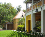 Veranda and Cottage