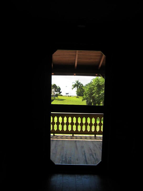 Veranda Doorway