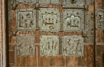 Verona, San Zeno, bronze doors, six panels, St. John the Baptist, Adam and Eve, Cain and Abel