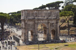 Via Triumphalis and the Arch of Constantine