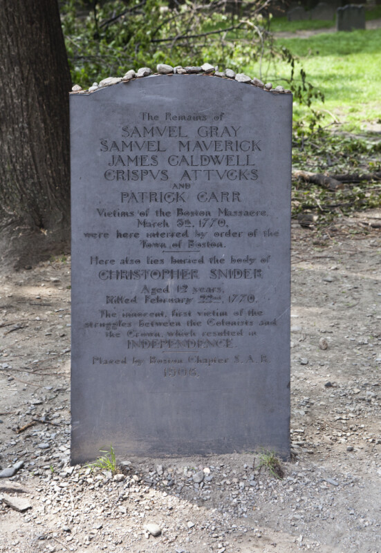 Victims of the Boston Massacre
