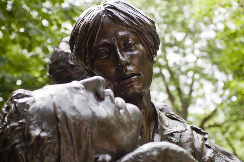 Vietnam Nurse Statue