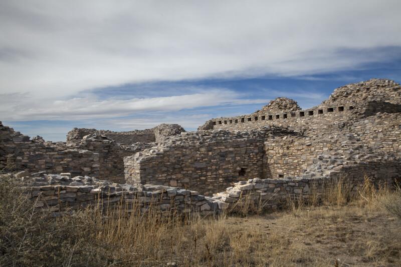 View Into Convento