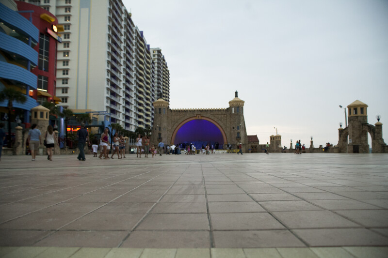 View of Bandshell