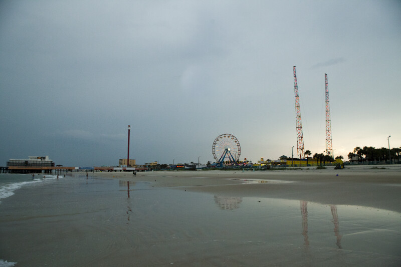 View of Fair from Beach