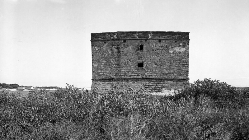 View of Fort Matanzas Tower