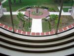 View of McGuffey Memorial from McGuffey Hall, Miami University