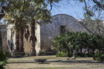 View of the Alamo Church from Rear