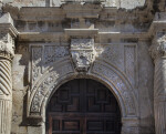 View of the Door Archway at the Alamo