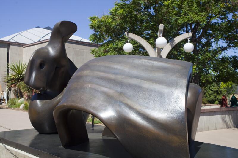 "View of ""Three Piece Reclining Figure: Draped"""