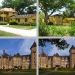 Views of Houses, Exterior photographs
