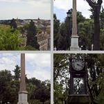 Villa Borghese Gardens photographs