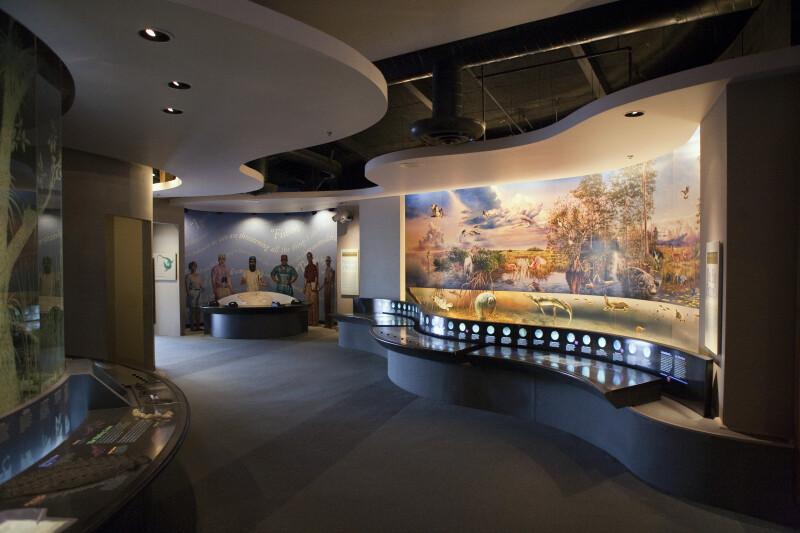 Visitor's Center Interior
