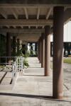 Visitor's Center Pillars