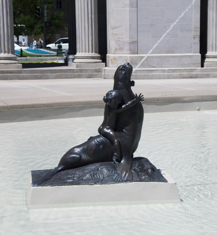 Voorhies Memorial Seal Pond