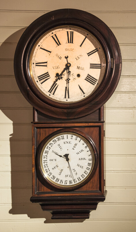 Wall Clock at the Luis Muñoz Rivera Home