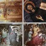 Wall paintings photographs