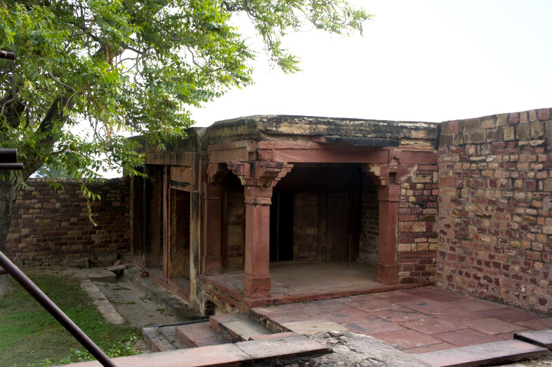 Wall Surrounding Fatehpur Sikri complex