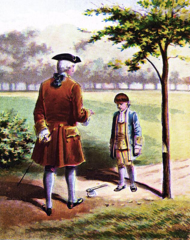 Washington and the Cherry Tree