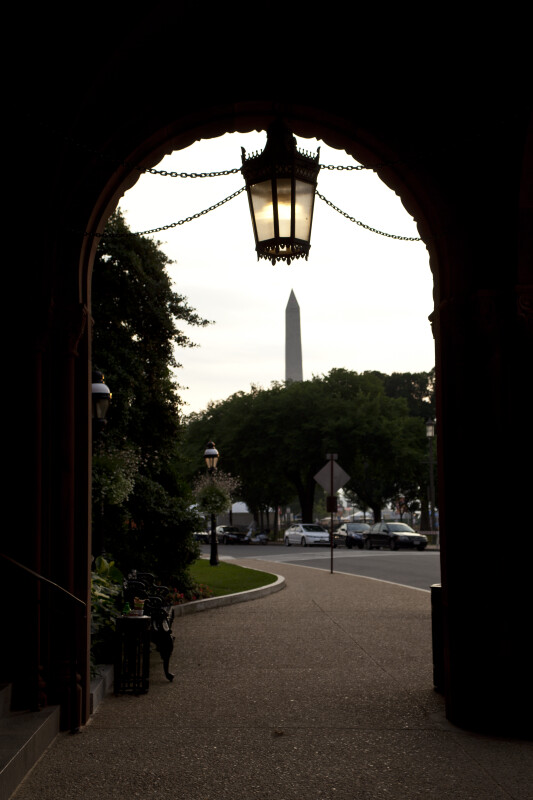 Washington Monument and Arch