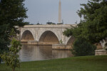 Washington Monument and Arlington Memorial Bridge