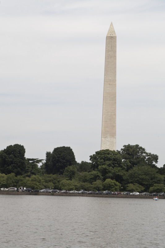 Washington Monument and Cars