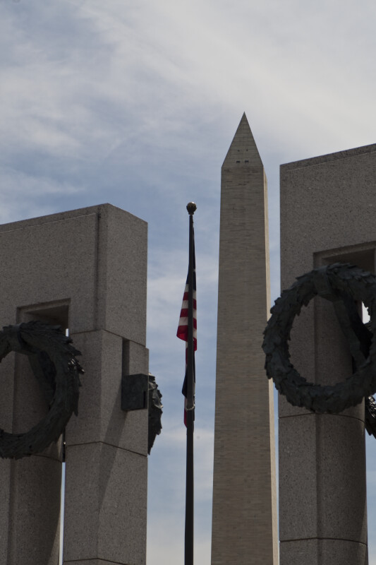 Washington Monument and Pillars