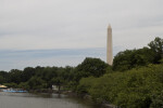 Washington Monument and Potomac Tidal Basin