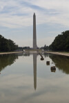 Washington Monument and Reflection