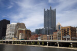 Washington Plaza and PPG Place in Downtown Pittsburgh