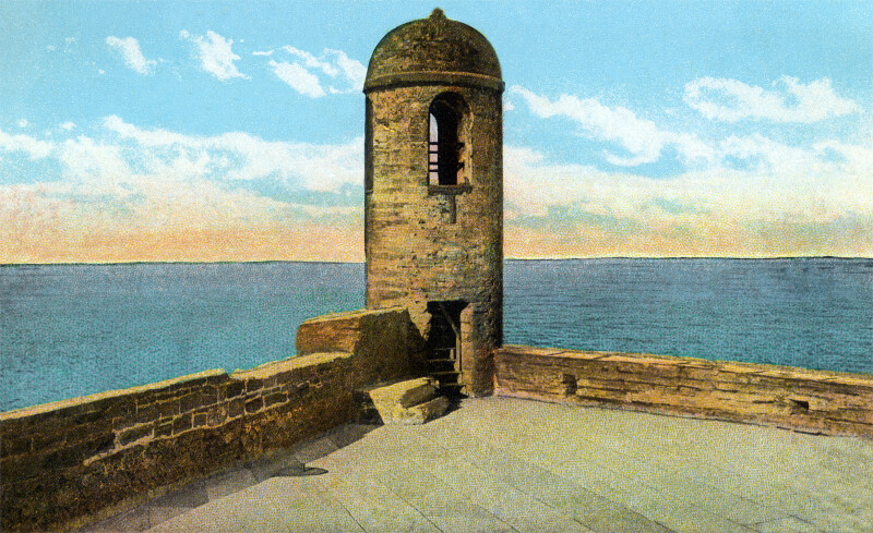 Watch Tower at Fort Marion