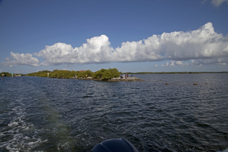 Water and Low Clouds at Biscayne National Park