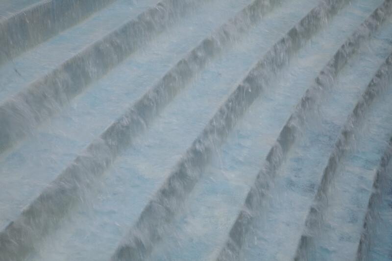 Water Falling Down Steps