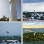 Water Towers photographs