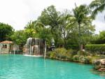 Waterfall and Lifeguard Station