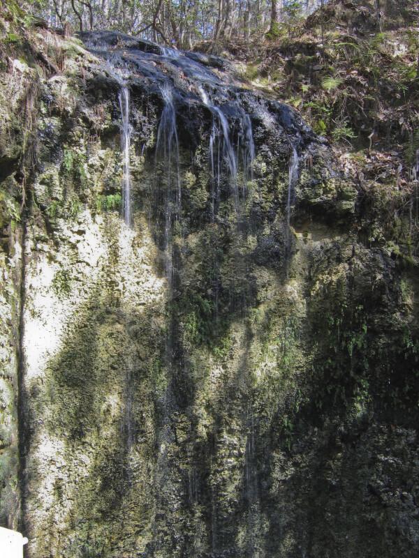 Waterfall at Sinkhole