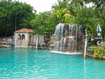 Waterfall at Venetian Pool
