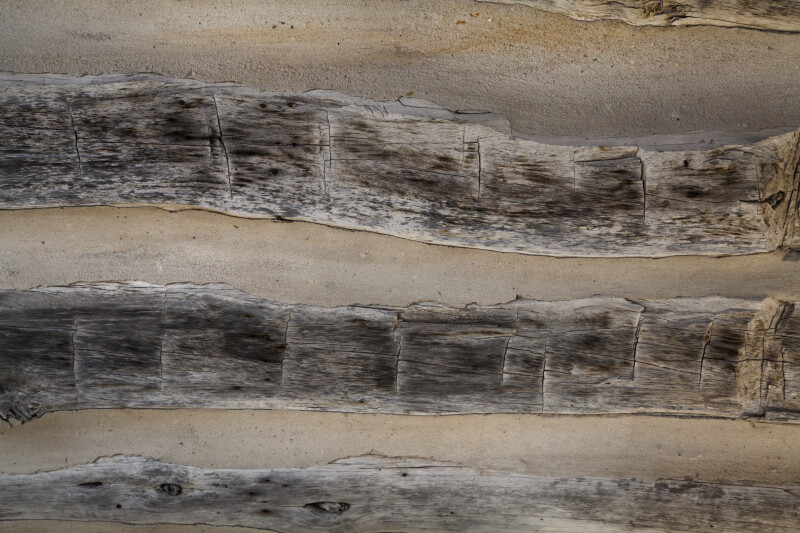 Wavy Weathered Wood