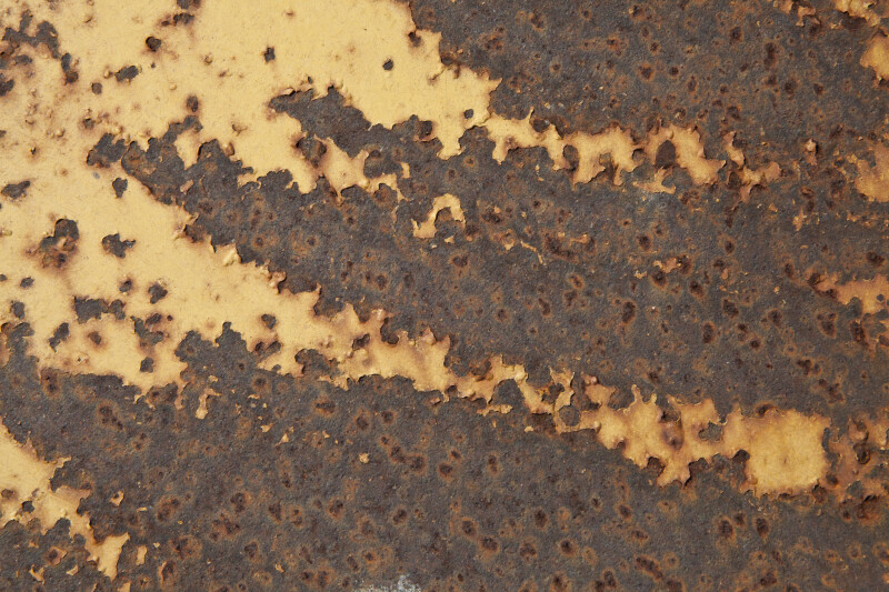 Weathered Paint on Construction Equipment