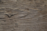 Weathered Wood Bed of Construction Equipment
