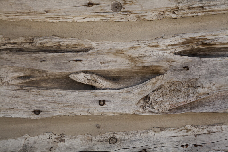 Weathered Wooden Slab