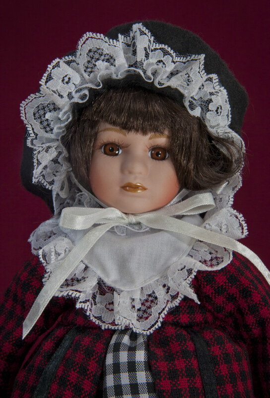 Wales -- Welsh Doll Dressed Up for St. David's Day (Close Up)