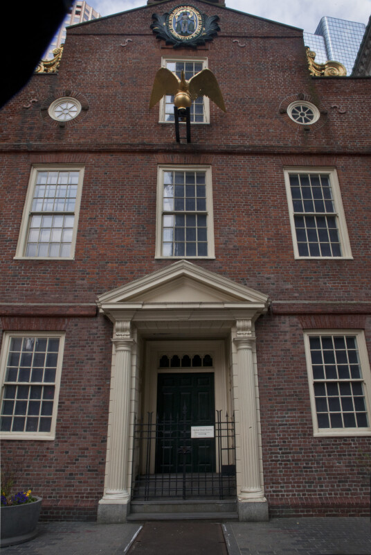 West Entrance, Old State house