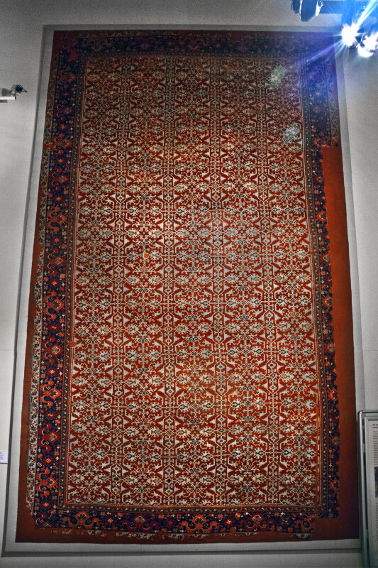 Western Anatolian Lotto Type Carpet