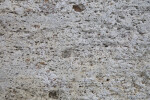 White-Grey Surface of a Porous Rock