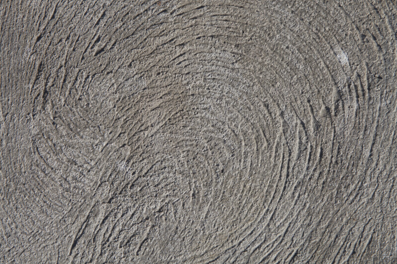 Whorl Pattern Sidewalk