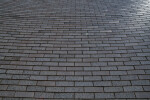 Wide View of Brick Pavement