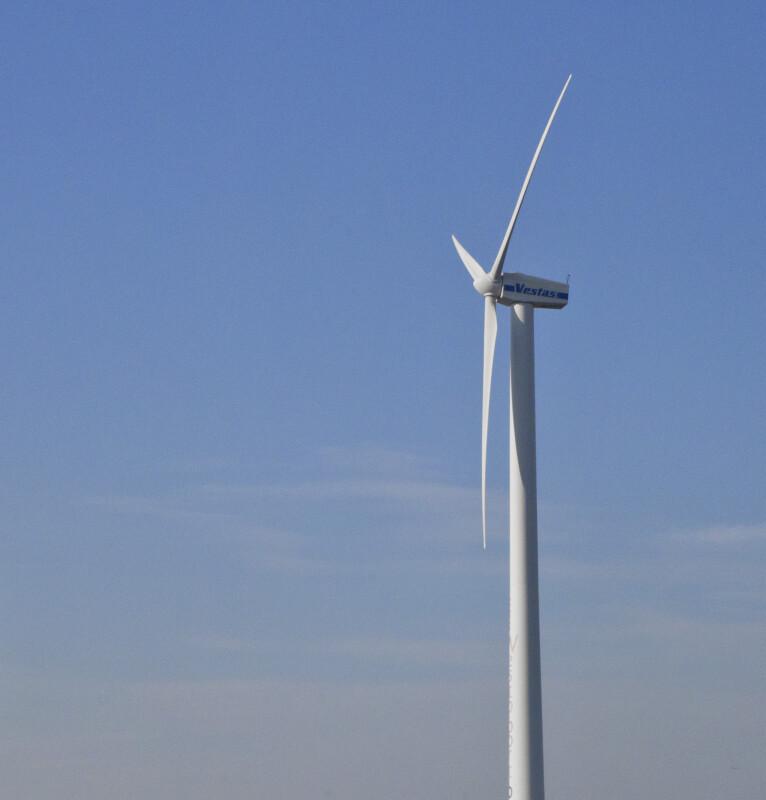 Wind Turbine near Amsterdam