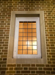 Window and Brick Wall
