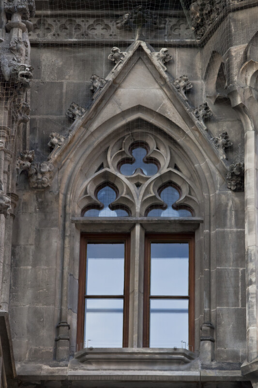 Window of New Town Hall